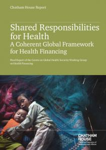 Shared Responsibilities for Health - Chatham House