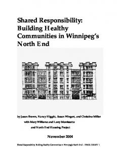 Shared Responsibility: Building Healthy Communities in Winnipeg's ...