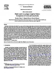 Shark catch in a pelagic longline fishery - Semantic Scholar