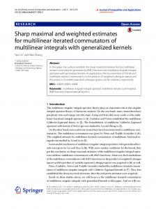 Sharp maximal and weighted estimates for