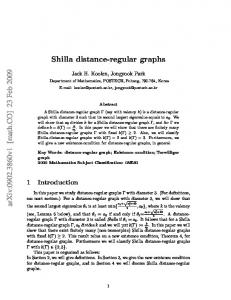 Shilla distance-regular graphs