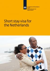 Short stay visa for the Netherlands