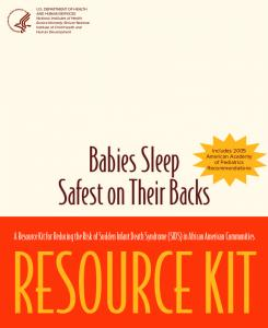 SIDS Resource Kit for African American Communitites