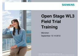 Siemens Training Course Intro