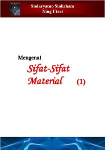 Sifat-Sifat Material - EE Cafe
