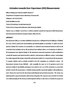 SIGCHI Conference Paper Format