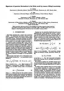 Signatures of quantum fluctuations in the Dicke