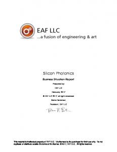 Silicon Photonics - EAF LLC