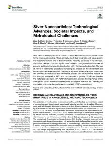 Silver Nanoparticles - Core