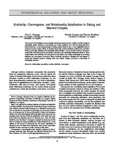 Similarity, Convergence, and Relationship ... - Semantic Scholar