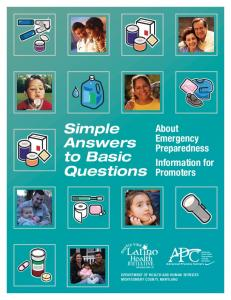 Simple Answers to Basic Questions Download