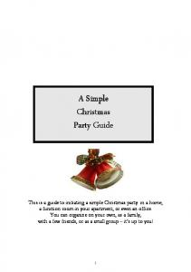 Simple Christmas Party Guide_A5