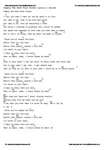 Simply The Best-Tina Turner lyrics & chords - Traditional Music Library
