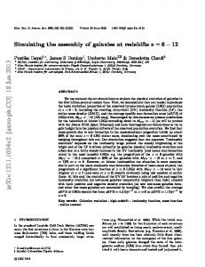 Simulating the assembly of galaxies at redshifts z= 6-12