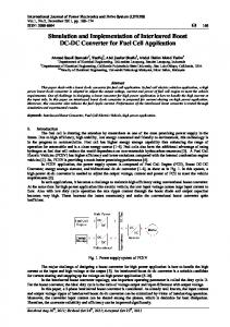 Simulation and Implementation of Interleaved Boost ...