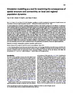 Simulation modelling as a tool for examining the ... - Oxford Journals
