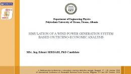 simulation of a wind power generation system based ...