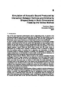 Simulation of Acoustic Sound Produced by Interaction