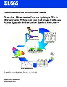 Simulation of Groundwater Flow and Hydrologic ...