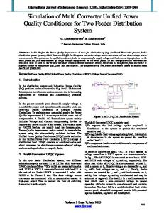 Simulation of Multi Converter Unified Power Quality ... - IJSR