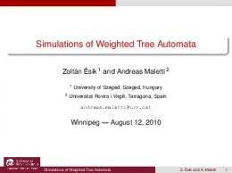 Simulations of Weighted Tree Automata