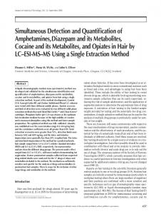 Simultaneous Detection and Quantification of Amphetamines ...
