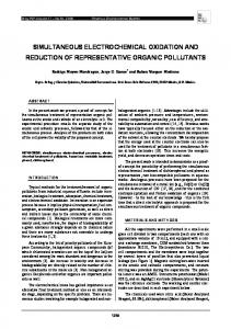 simultaneous electrochemical oxidation and reduction