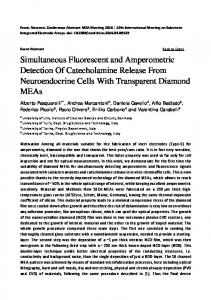 Simultaneous Fluorescent and Amperometric