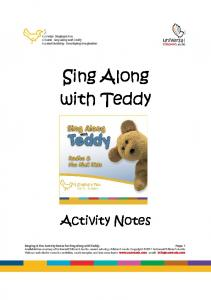 Sing Along with Teddy - Universal Childrens Audio
