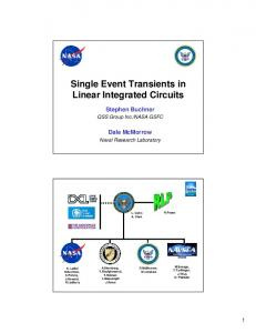 Single Event Transients in Linear Integrated Circuits - NASA