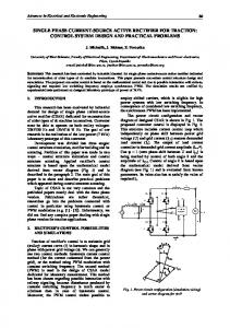 single phase current-source active rectifier for traction - CiteSeerX