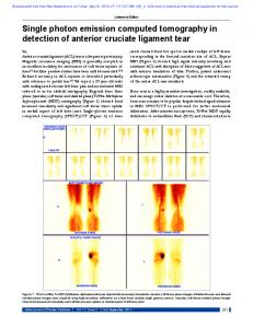 Single photon emission computed tomography in ...