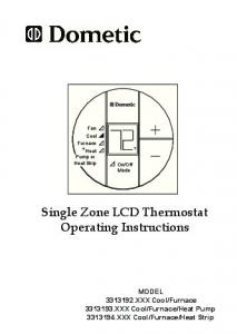 Dometic comfort control center 2 thermostat operating single zone lcd thermostat operating instructions sciox Gallery