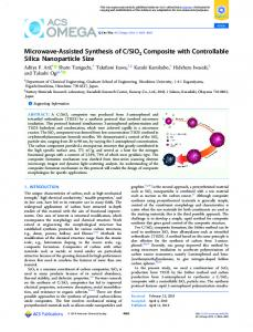 SiO2 ... - ACS Publications