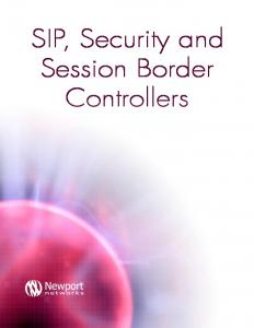 SIP, Security and Session Border Controllers - Cyneric
