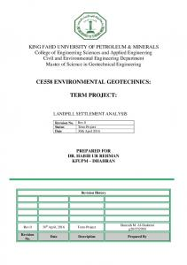 site investigation and geotechnical evaluation