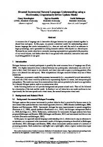 Situated Incremental Natural Language Understanding using a ...