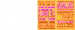 Sizzling Arts Scene this Summer - Rutgers University-Camden