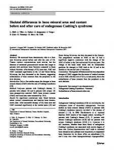 Skeletal differences in bone mineral area and content ... - Springer Link