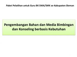Skenario Workshop Pengembangan Media Bimbingan ... - Staff UNY