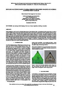 skyline matching based camera orientation from ... - ISPRS Annals