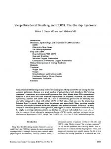 Sleep-Disordered Breathing and COPD: The ... - Semantic Scholar