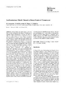 Small-conductance chloride channels in human ... - Springer Link