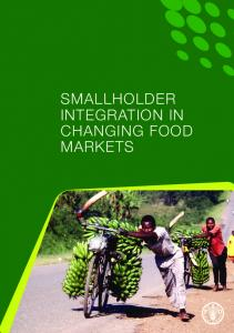 Smallholder integration in changing food markets - Food and ...