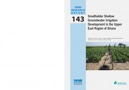 Smallholder Shallow Groundwater Irrigation ... - AgEcon Search
