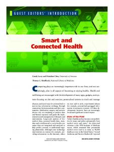 Smart and Connected Health - IEEE Computer Society