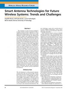 Smart antenna technologies for future wireless systems ... - IEEE Xplore