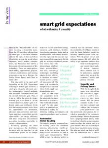 smart grid expectations - IEEE Xplore