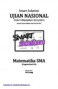 Smart Solution Matematika SMA - WordPress.com