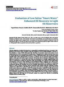 Smart Water - Scientific Research Publishing